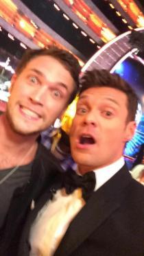 American Idol Finale Phillip Phillips and Ryan Seacrest