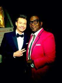 American Idol Finale Ryan Seacrest and Randy Jackson