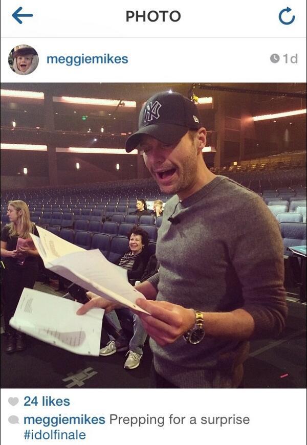 American Idol Finale Ryan Seacrest