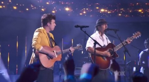 American Idol Jason Mraz and Alex Preston
