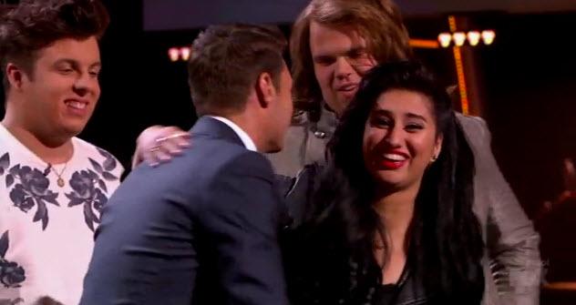 American Idol Top 3 Results 5