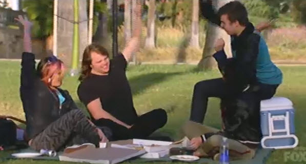 American Idol Top 4 picnic