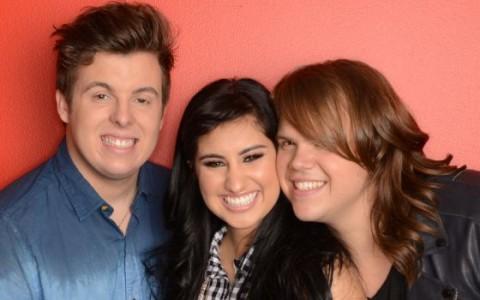 American Idol 2014 Top 3 finalists
