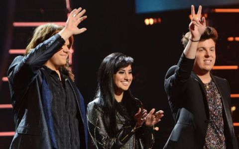 American Idol 2014 Top 3 finalists