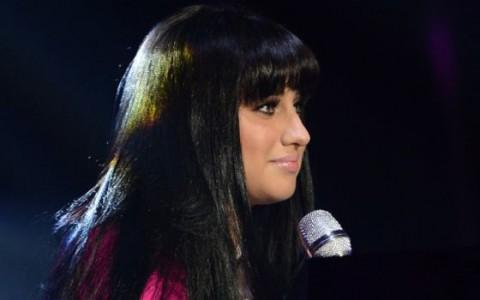 Jena Irene performs on American Idol 2014 - Source: FOX