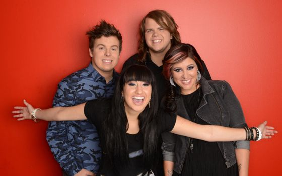 American Idol 2014 Top 4 finalists