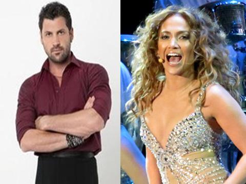 Maksim Chmerkovskiy (ABC) and Jennifer Lopez (Wikimedia.org)