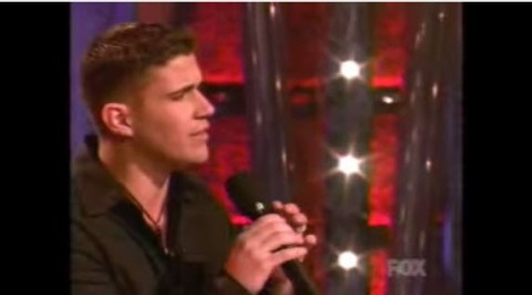 Josh Gracin on American Idol (FOX)