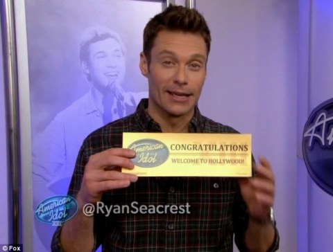 American Idol Golden Ticket
