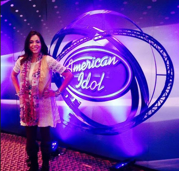 Vanessa Andrea Melvin-Montandon American Idol
