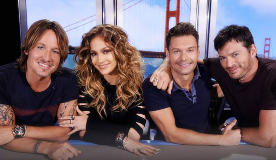 American Idol Judges & Ryan Seacrest