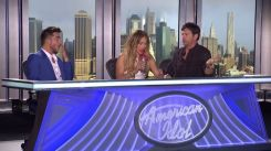 Adam Lambert at American Idol 2015 auditions - 01