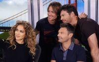 American Idol 2015 Judges pose with Ryan Seacrest