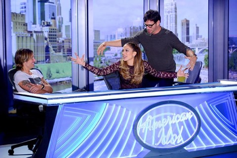 American Idol 2015 judges get silly at auditions