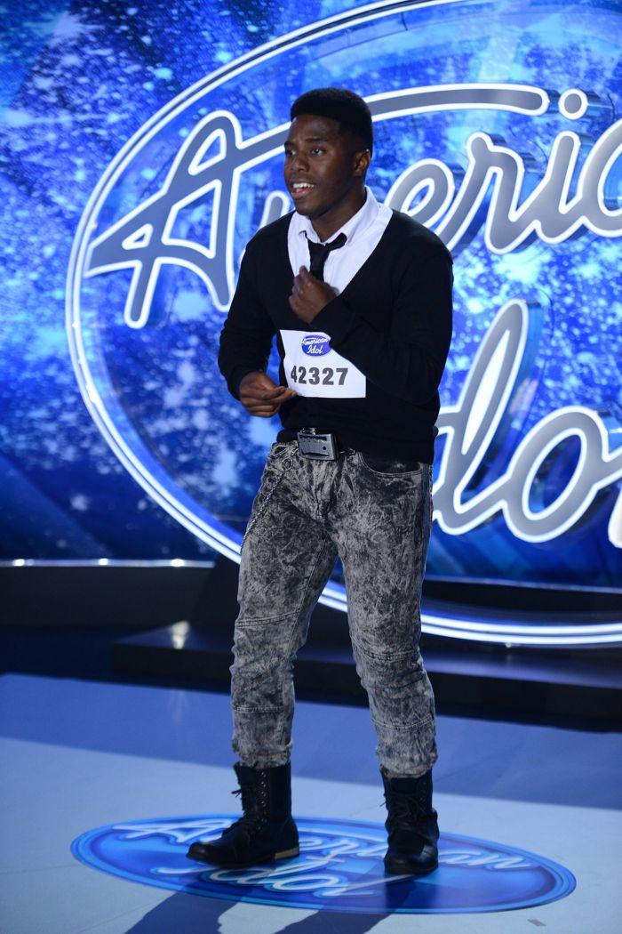 J. None on American Idol