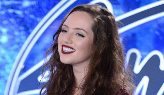 Maddy Hudson on American Idol 2015