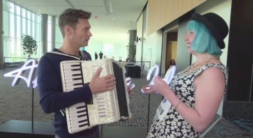 Joey Cook auditions on American Idol 2015 - 03