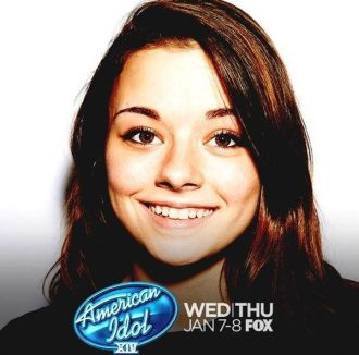 Shannon Berthiaume on American Idol