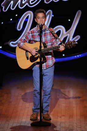 Daniel Seavey performs in Hollywood Week