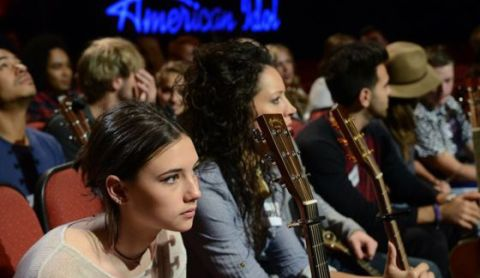 American Idol 2015 Hopefuls prepare for Hollywood performances