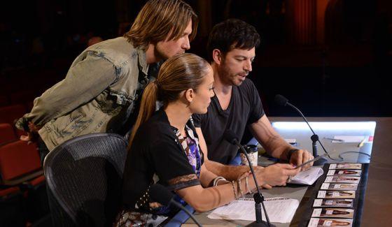 American Idol Results - Judges' results in Hollywood Week