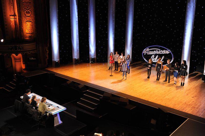 Contestants perform in Hollywood Week – 02