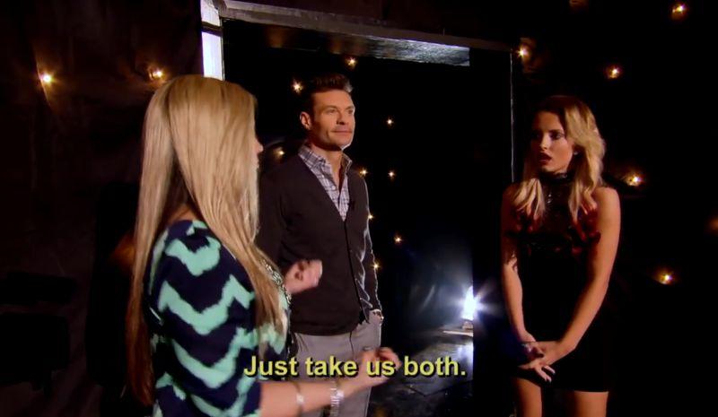 Rachel suggests American Idol keeps them both