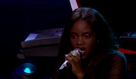 Adanna Duru sings on American Idol 2015 Showcase