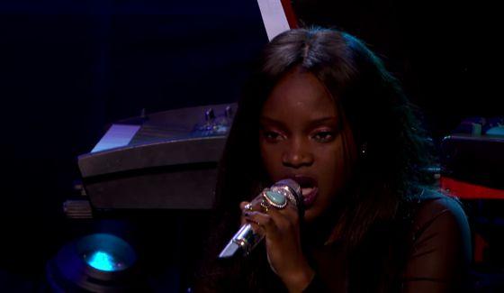 Adanna Duru sings on American Idol 2015 Showcase