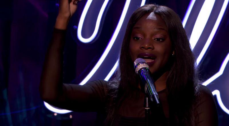 Adanna Duru on Top 48 American Idol