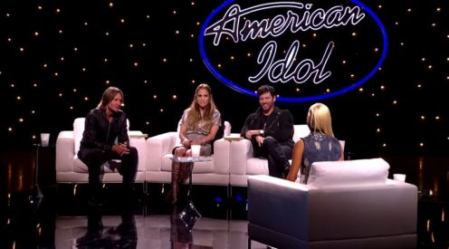 Judges talk with Jax about her Showcase performance