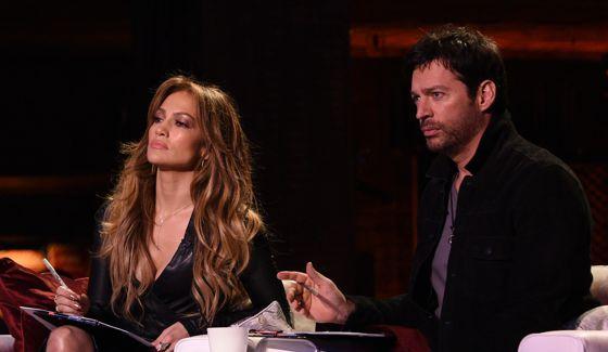 American Idol Judges Jennifer Lopez & Harry Connick Jr
