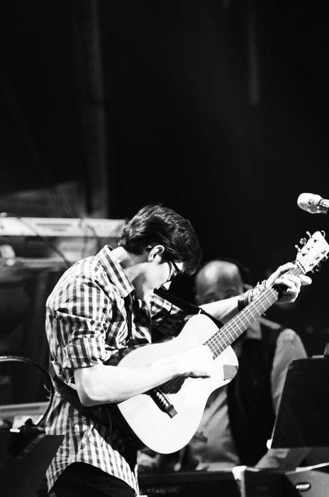 Trevor Douglas performs