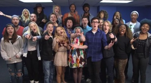 American Idol 2015 Top 24 group