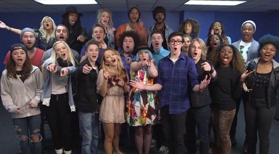 American Idol 2015 Top 24 group