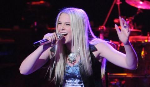 Lovey James performs on American Idol 2015