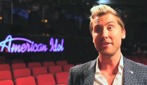 Lance Bass visits American Idol 2015 Group Round
