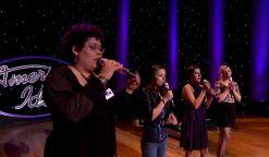 Violet Vixens sing on American Idol 2015