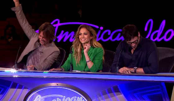 Keith, Jennifer, & Harry on American Idol 2015