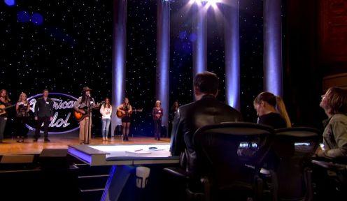 Qaasim Middleton on American Idol Hollywood Week - 03