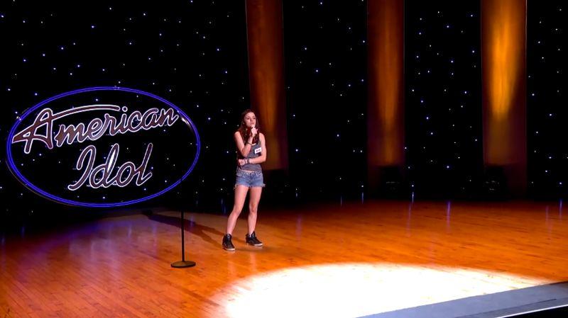 Shannon Berthiaume performs in Hollywood Week – 01