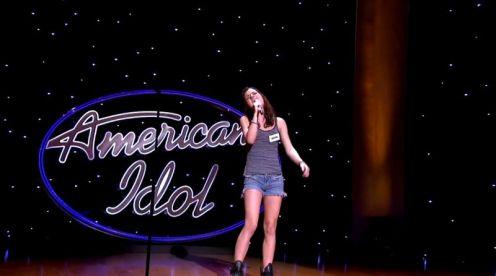 Shannon Berthiaume performs in Hollywood Week - 03