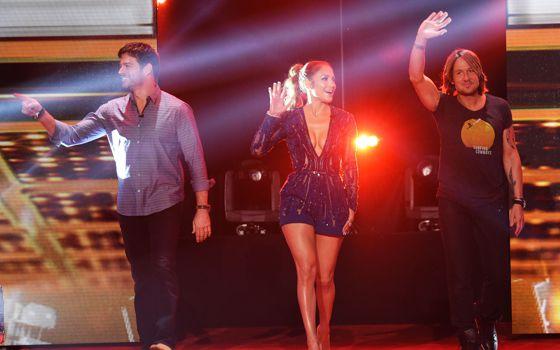 American Idol 2015 Judges on Top 10 night