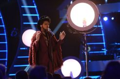 Quentin Alexander performs on AMERICAN IDOL