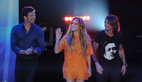 American Idol 2015 Judges on Top 12 night