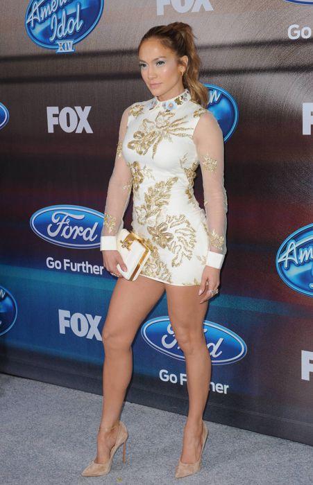 Jennifer Lopez – Top 12 Finalist Party