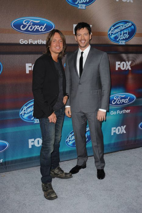 Keith Urban & Harry Connick Jr. – Top 12 Finalist Party