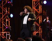 Adam Ezegelian performs in Top 8