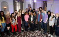 American Idol 2015 semifinalists with Aretha Franklin