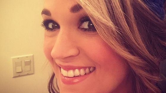Carrie Underwood smiles for her fans - Source: Instagram